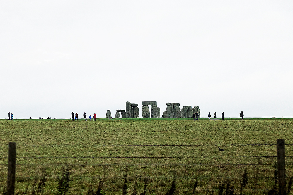 Stonehenge, from the freeway as we were bombing our way down to Cornwall.