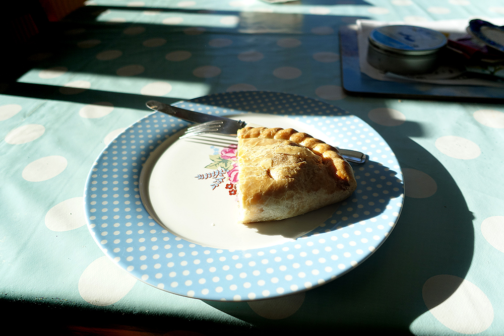 You absolutely cannot leave Cornwall without first having a Cornish pasty (pronounced PASS-tee).  It's practically law.