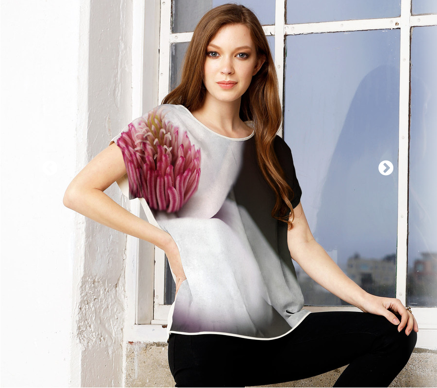 click the image above to order the Magnolia Silk Tee    .