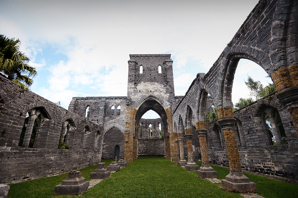 The Unfinished Church, Bermuda, March 2014.