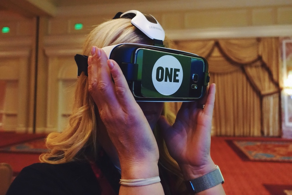 Barbara Jones   tries out the new 3D immersive video by   ONE  : a 4-minute video where you walk alongside a young girl in Tanzania during a typical day of her life. Dude, it's like you're RIGHT. THERE.