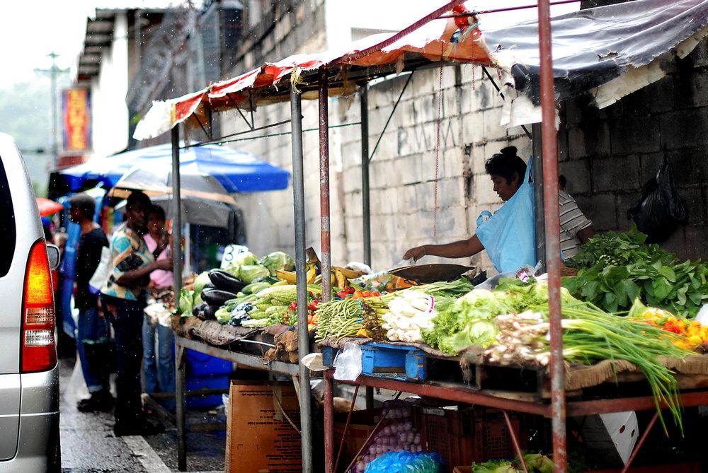 Open-air market, Tunapuna, Trinidad 2011