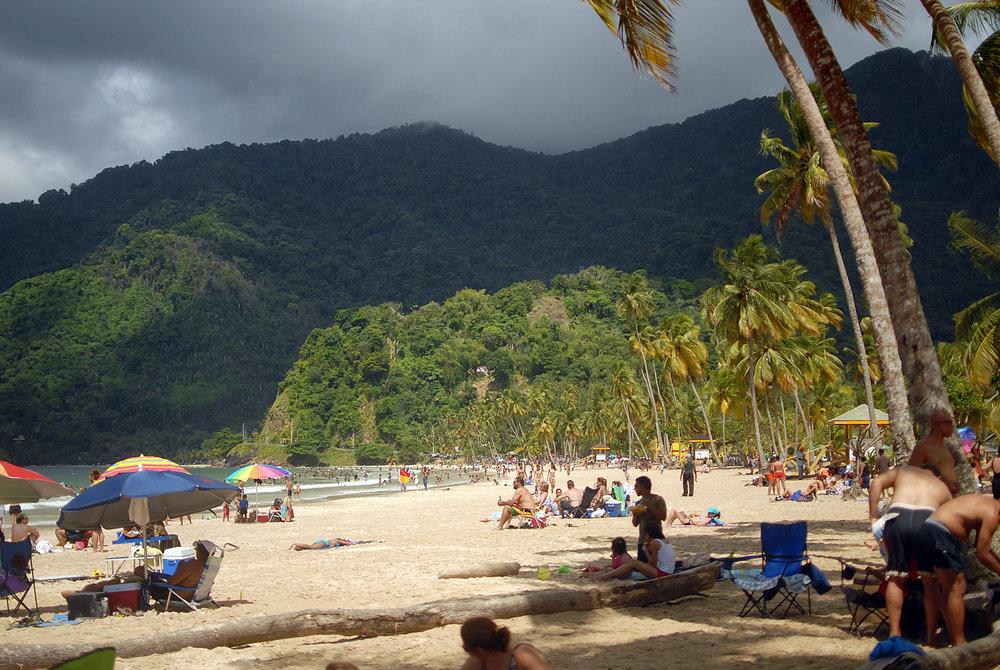 Maracas Beach, Trinidad, 2011. Maracas is a popular limin' spot for Trinis.
