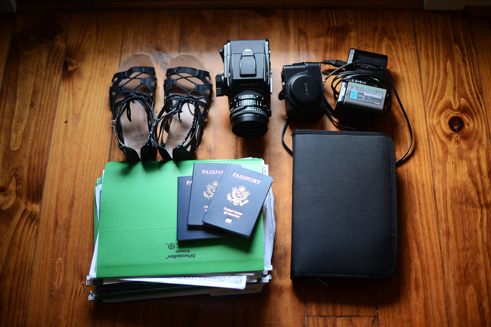 What I grabbed as we left:  my cameras, insurance documents and birth certificates, passports, and a single pair of shoes (all my shoes were wet at this point, I figured these had the best chance of drying).  I also grabbed 4 shirts, 4 pairs of pants (none of them matched) and no underwear.  You've been warned:  in an emergency, prepare better than I.