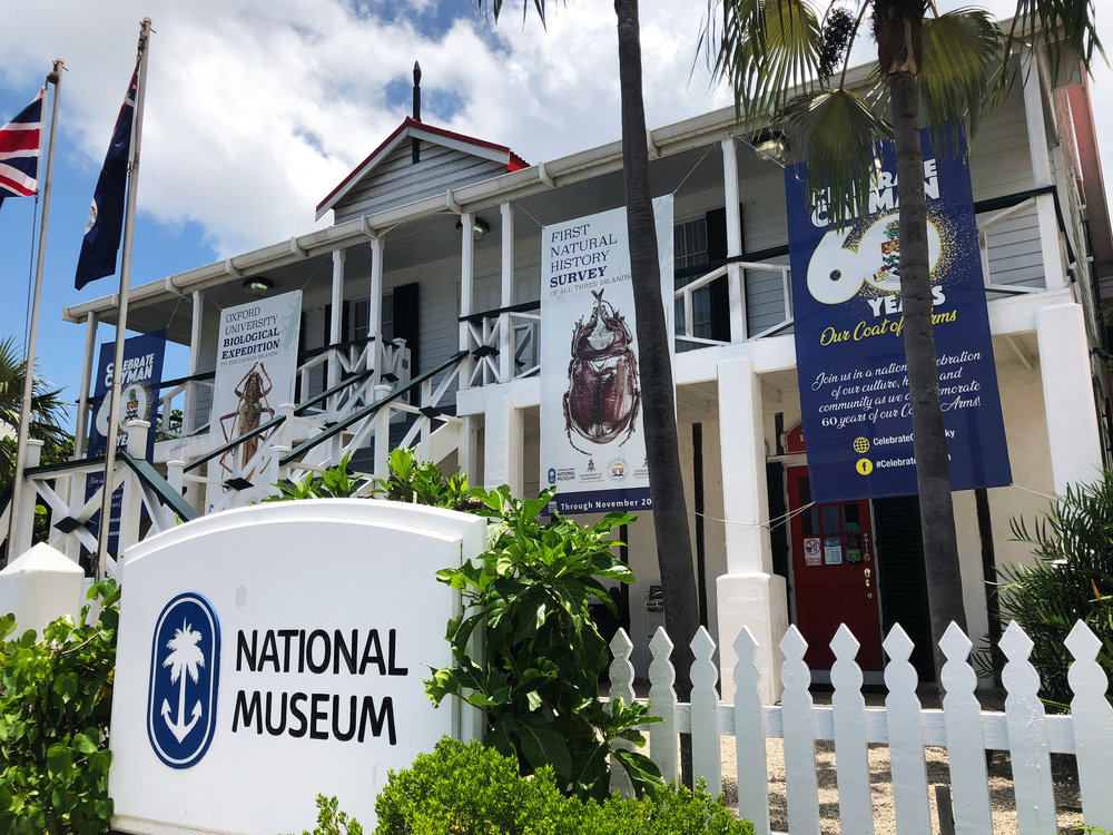 The  Cayman Islands National Museum .  You can visit the entire museum in less than an hour, including the 20-minute educational introductory video.  Absolutely charming, absolutely worth the visit.