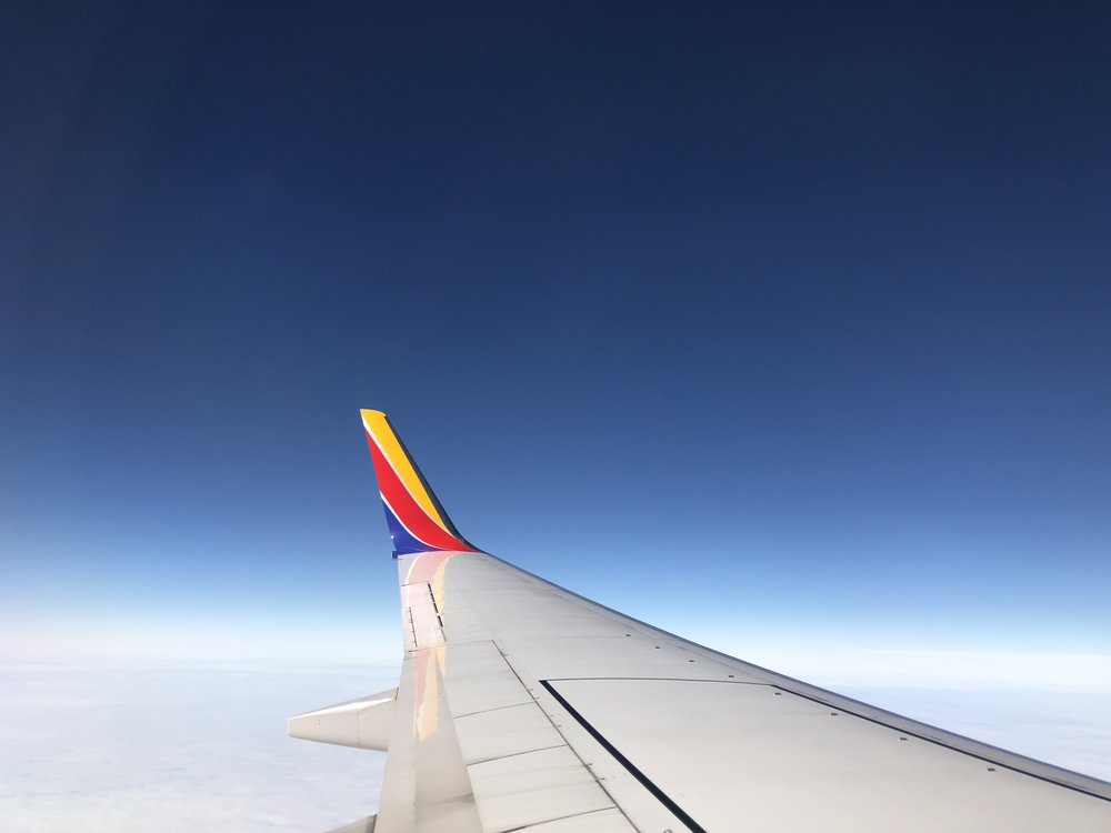 Leaving Houston.