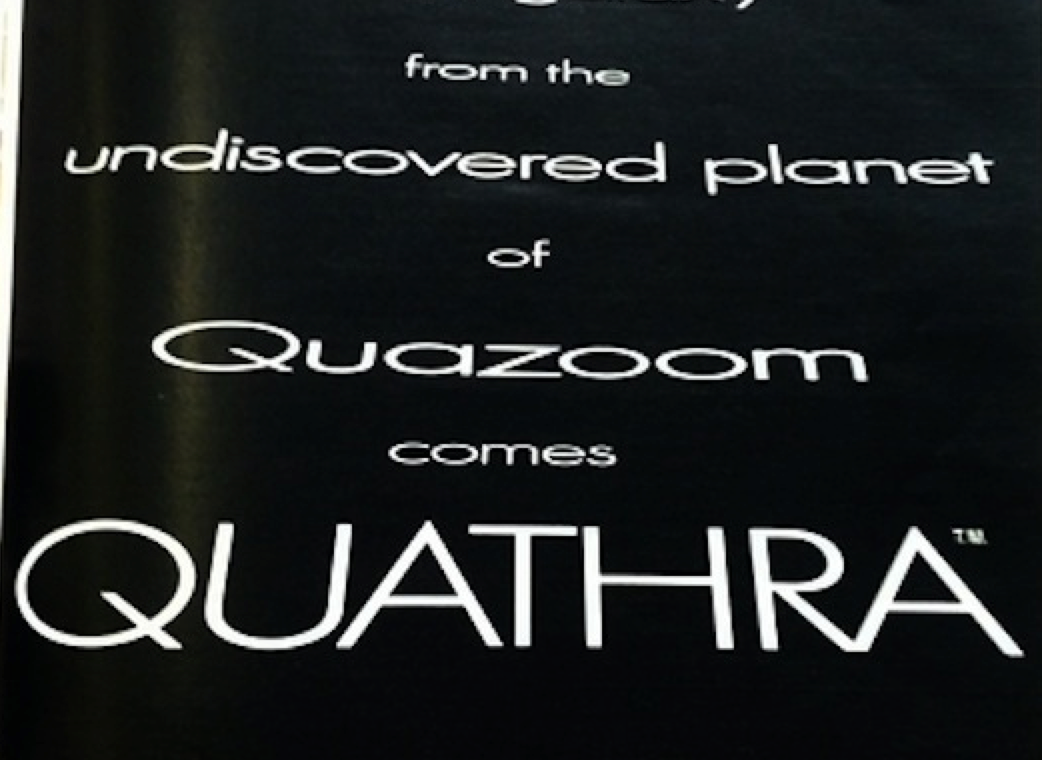 The Undiscovered Planet of Quazoom
