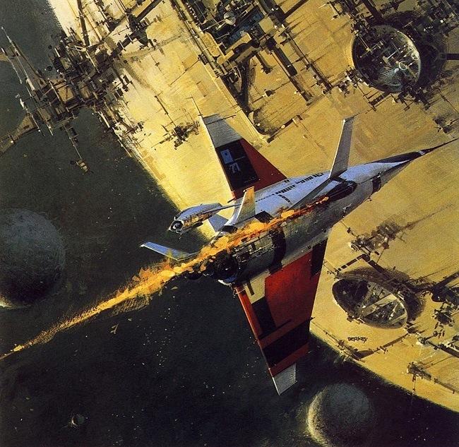Vintage Science Fiction Wallpaper Google Search: John Berkey & The Mechanical Planet