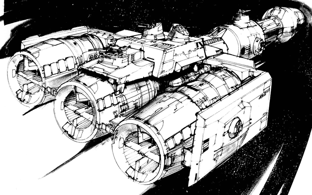 The Millennium Falcon Kitbashed