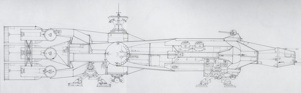 From  Star Wars Blueprints.