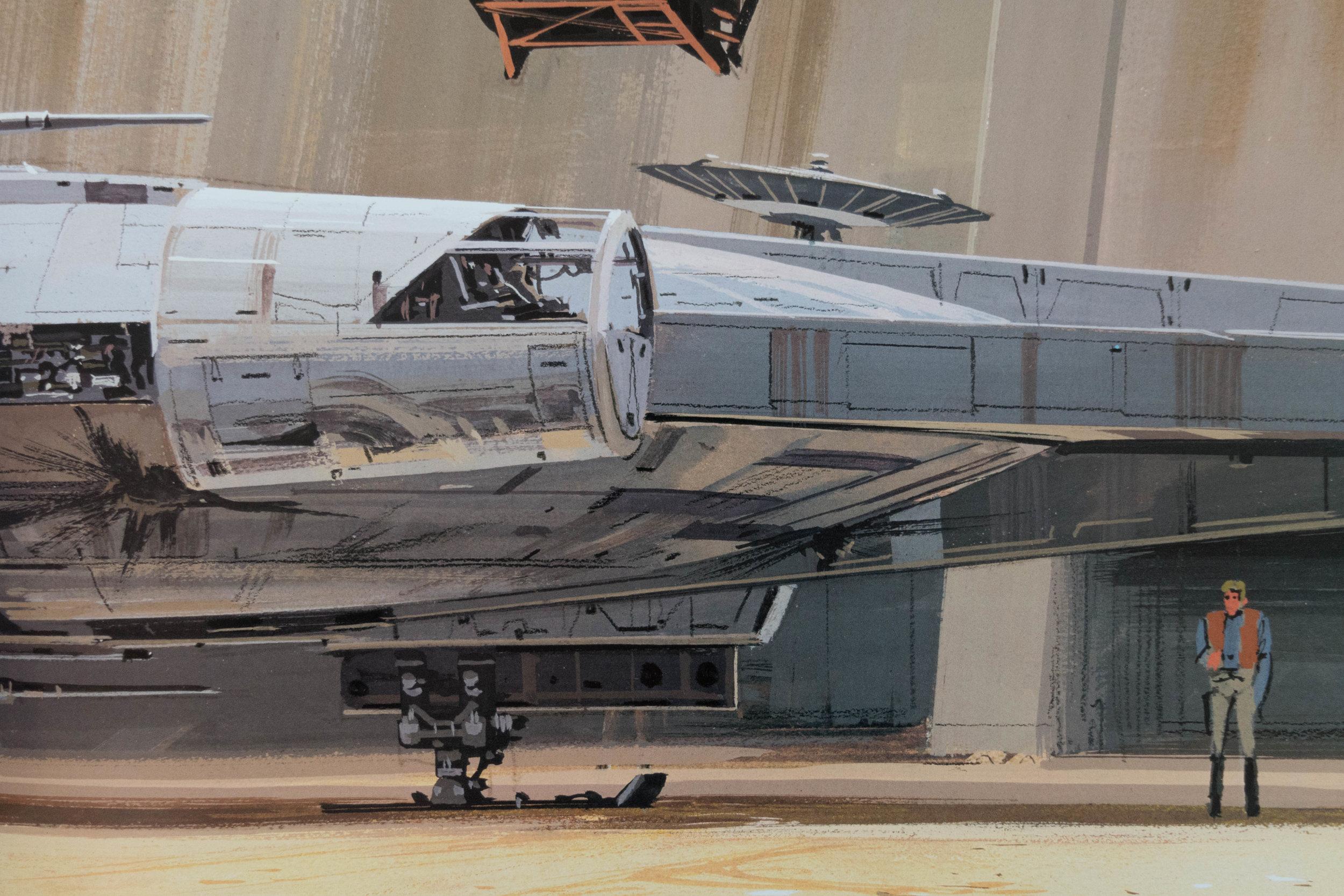 The Complete Conceptual History of the Millennium Falcon