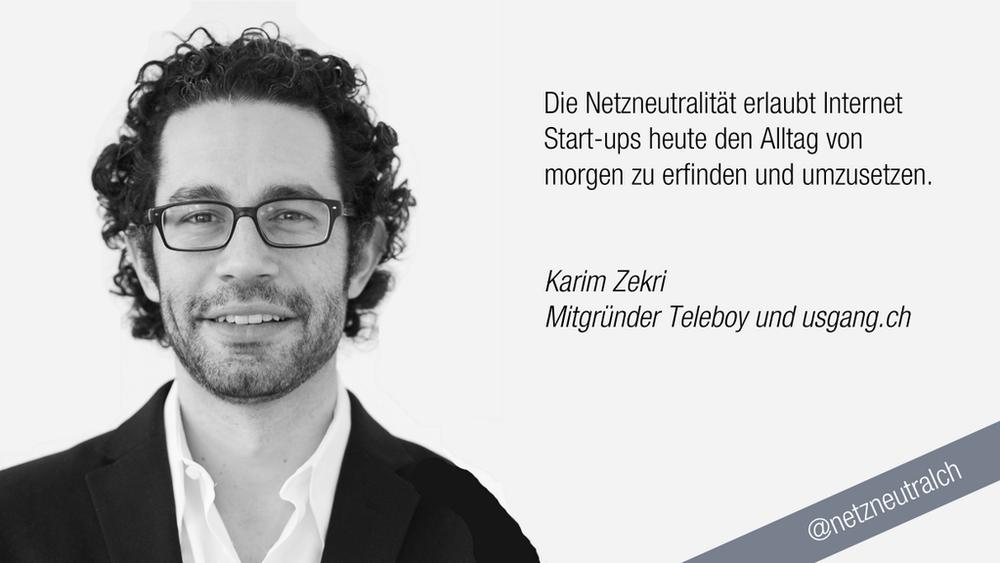 Bild aus der Kampagne: @netzneutralch