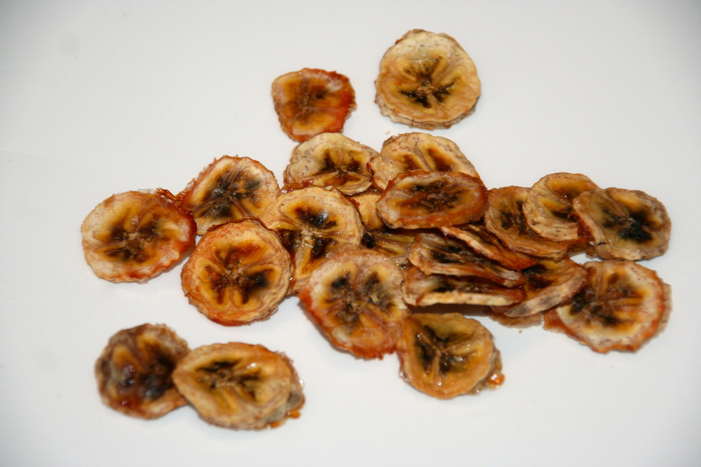 Homemade Banana Chips!
