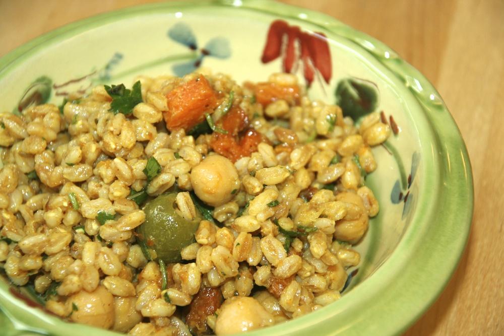 North African Farro Salad