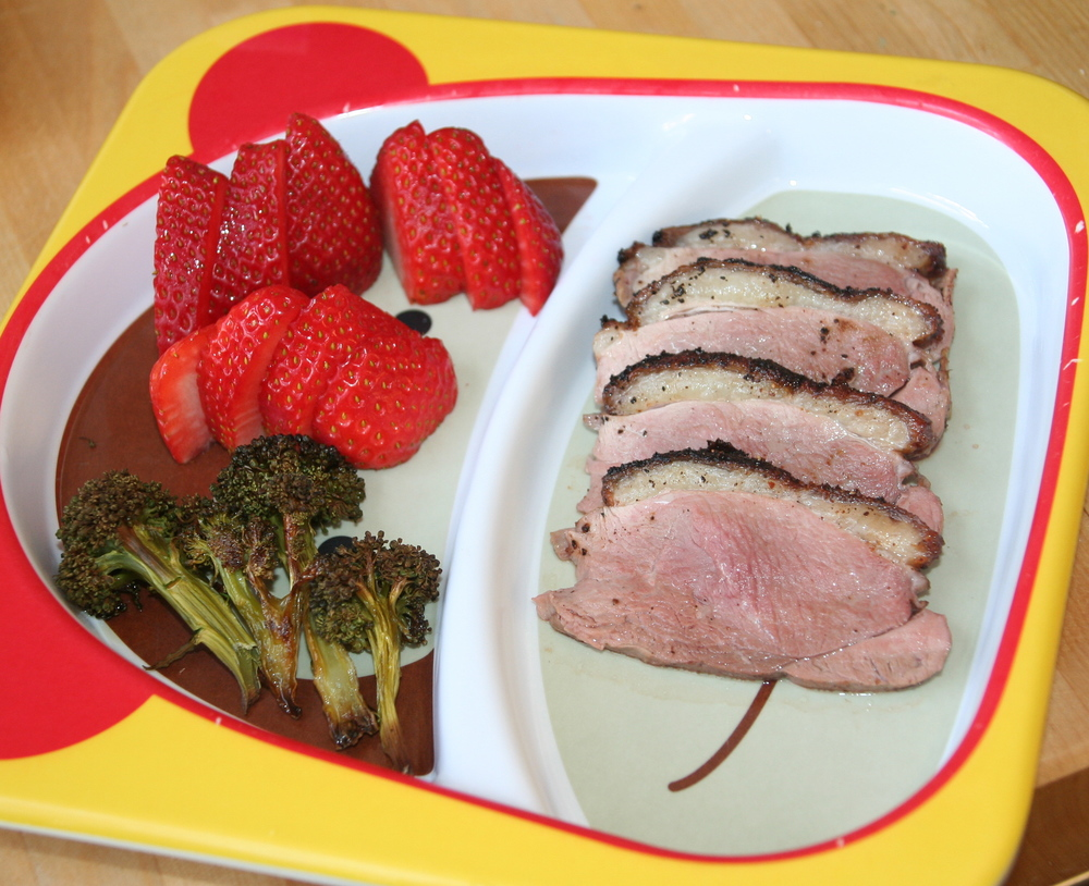 Pan roasted duck breast to celebrate Try it Tuesday!