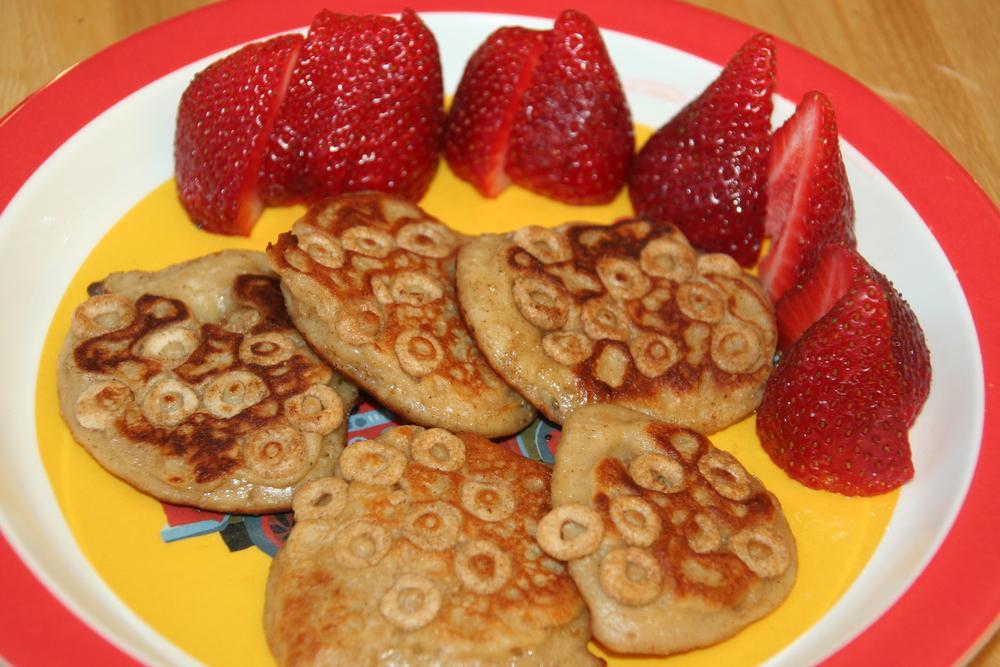 Cheerios Pancakes!