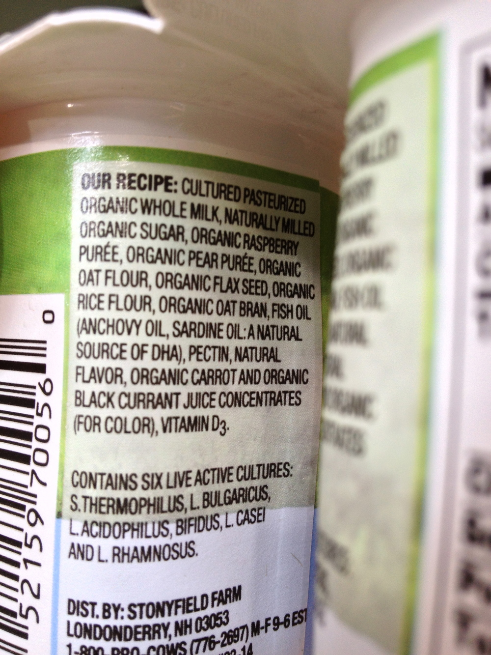 dha in yogurt and food labeling — lala lunchbox