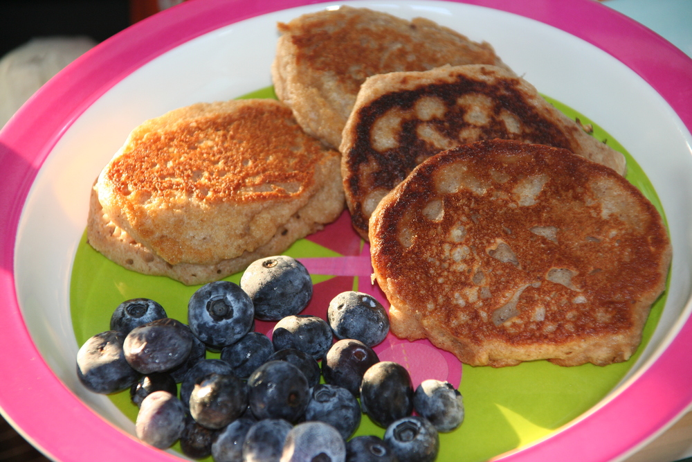yogurt oatmeal pancakes - requested for the first day of school