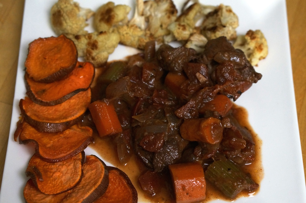 Veal Stew with Carrots and Cinnamon