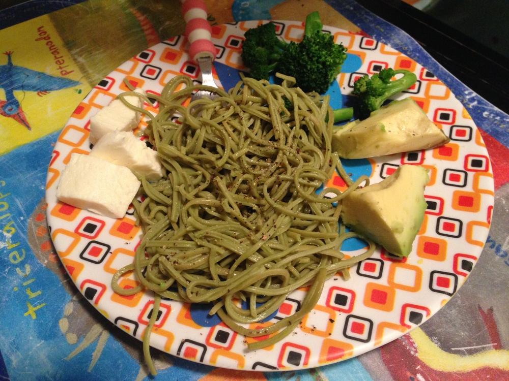 Explore Asian Edamame Spaghetti