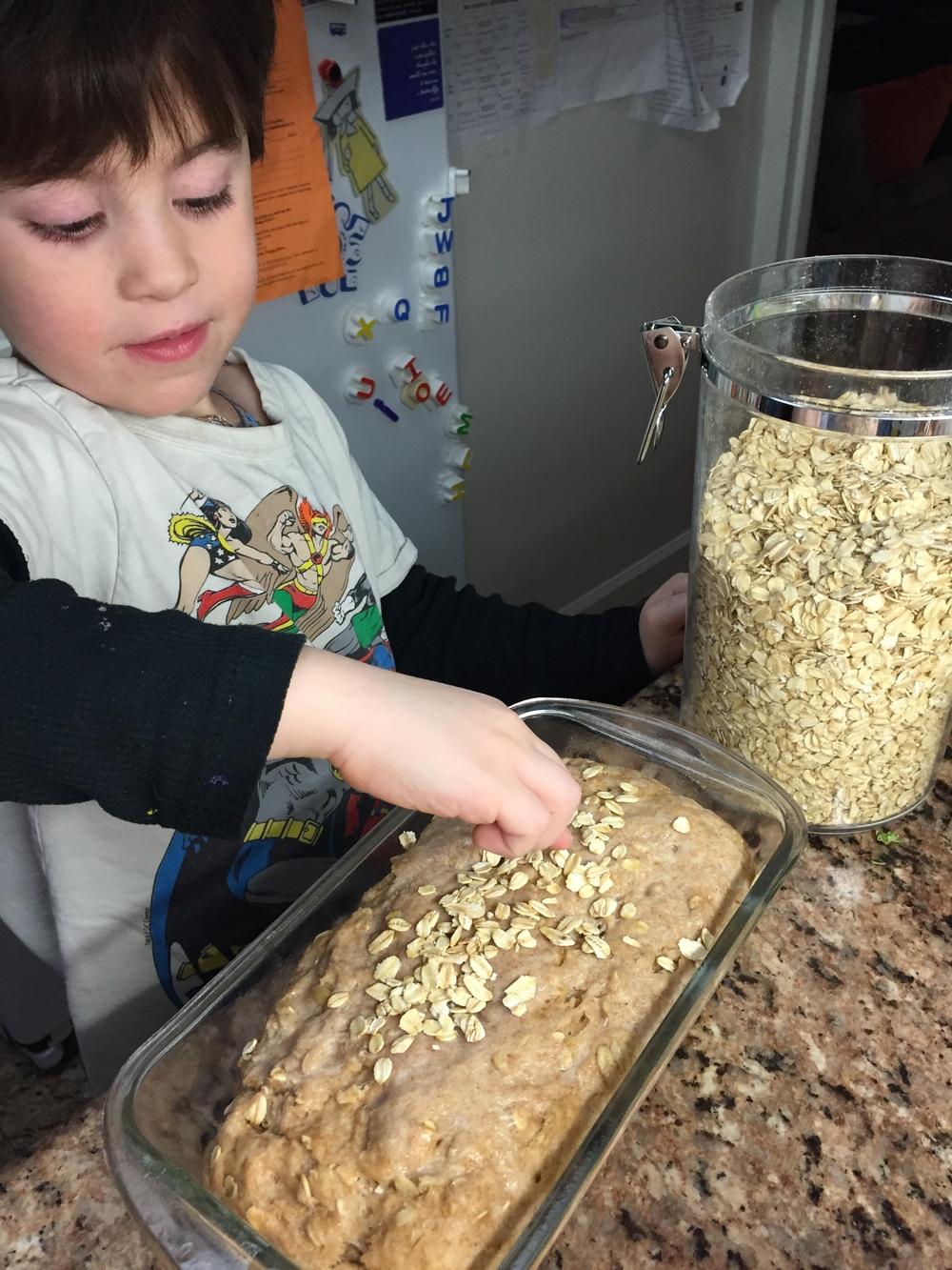 Honey Oat Whole Wheat Bread 2