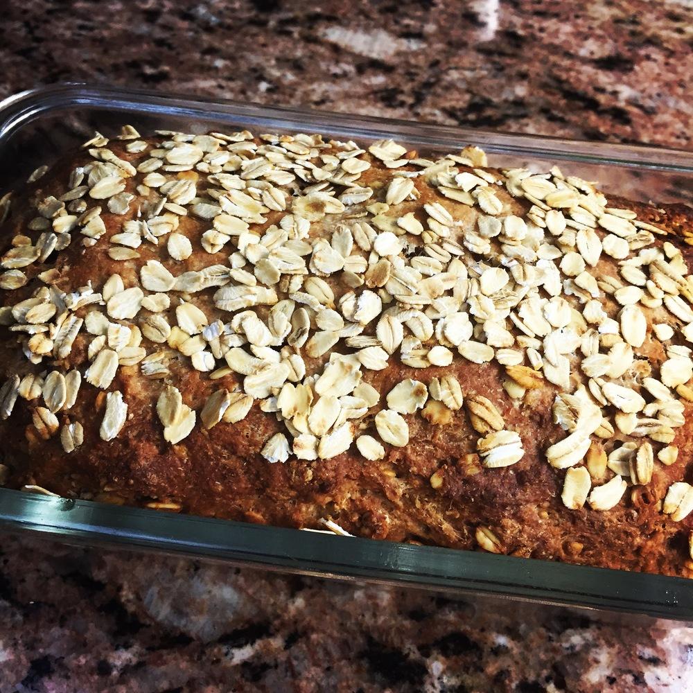 Honey Oat Whole Wheat Bread 3