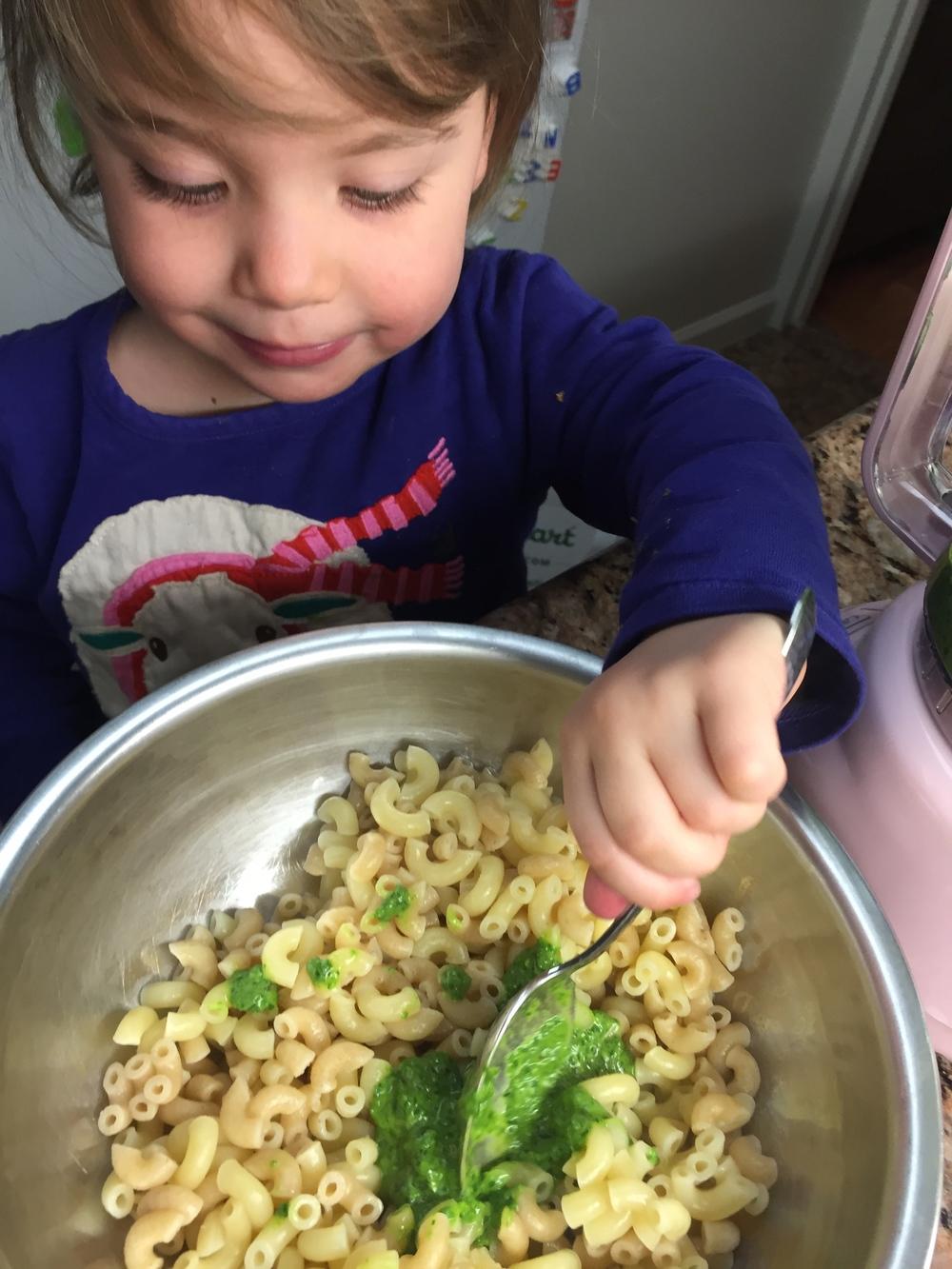 spinach pesto 2