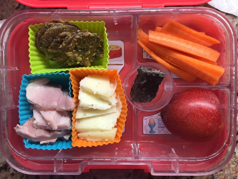 Simplify! Uncomplicated lunches are delicious!