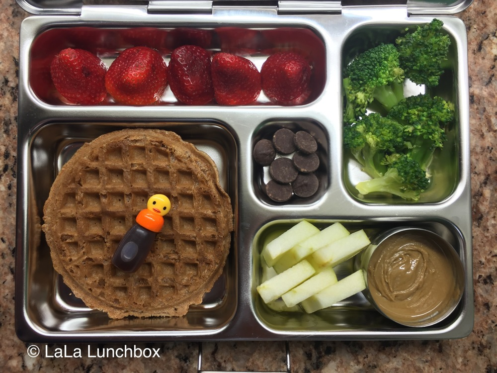 have patience with that lunchbox and veggies