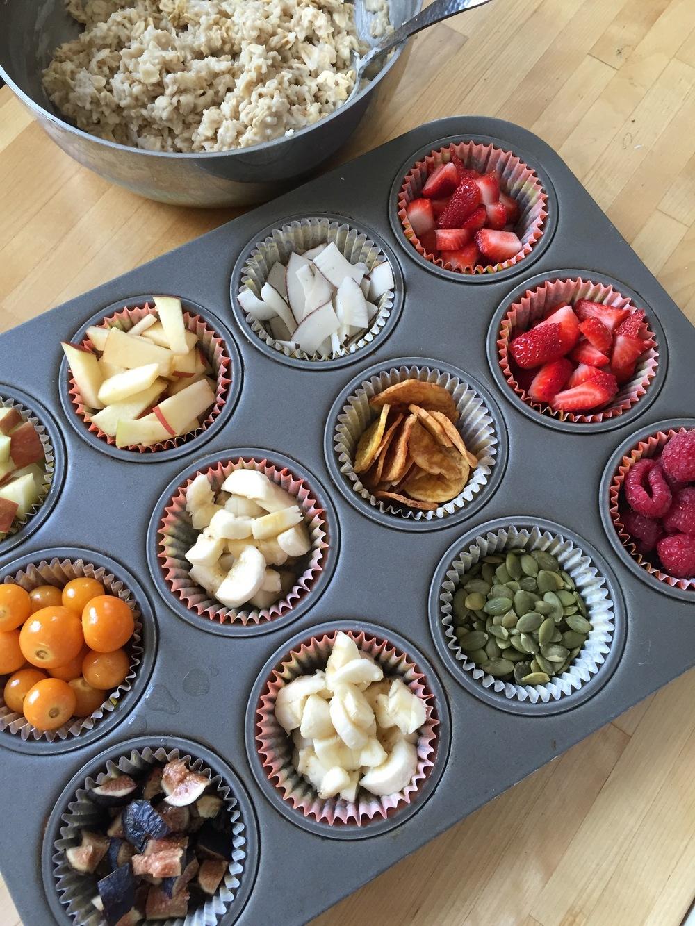DIY oatmeal