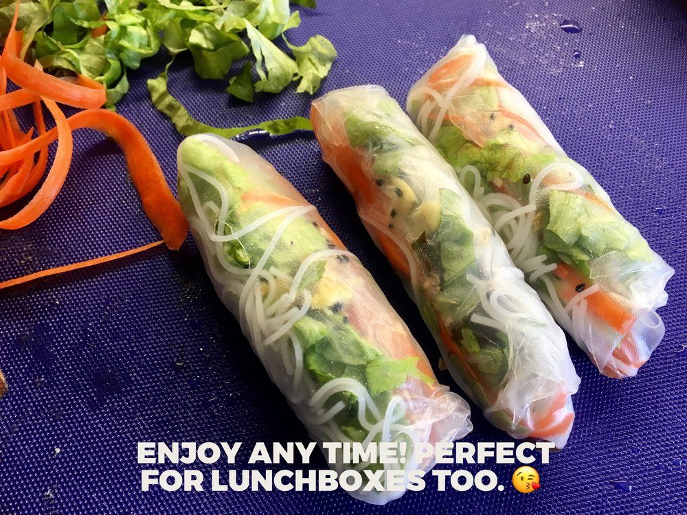 Salad Summer Rolls #3