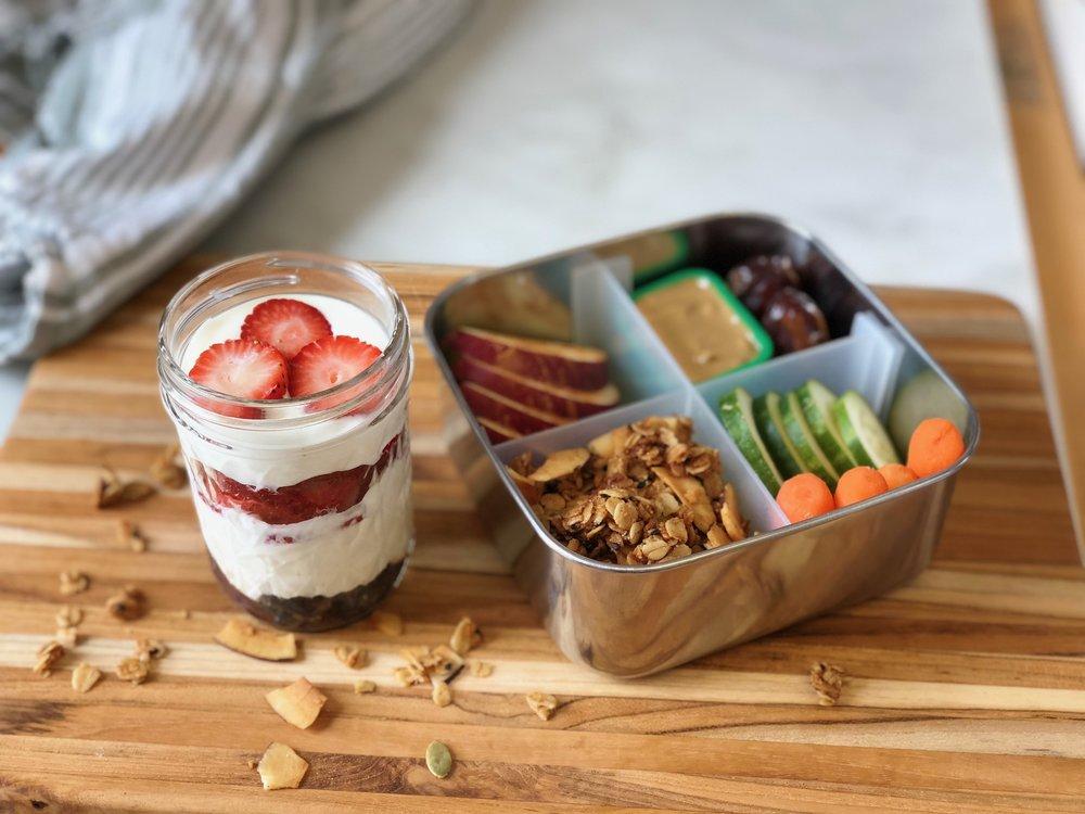 parfait lunchbox