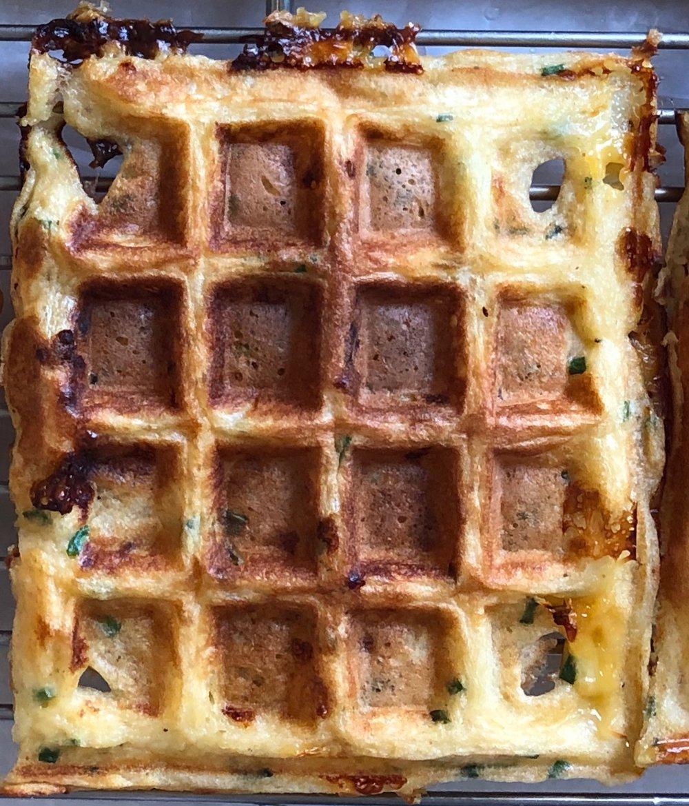 savory waffle
