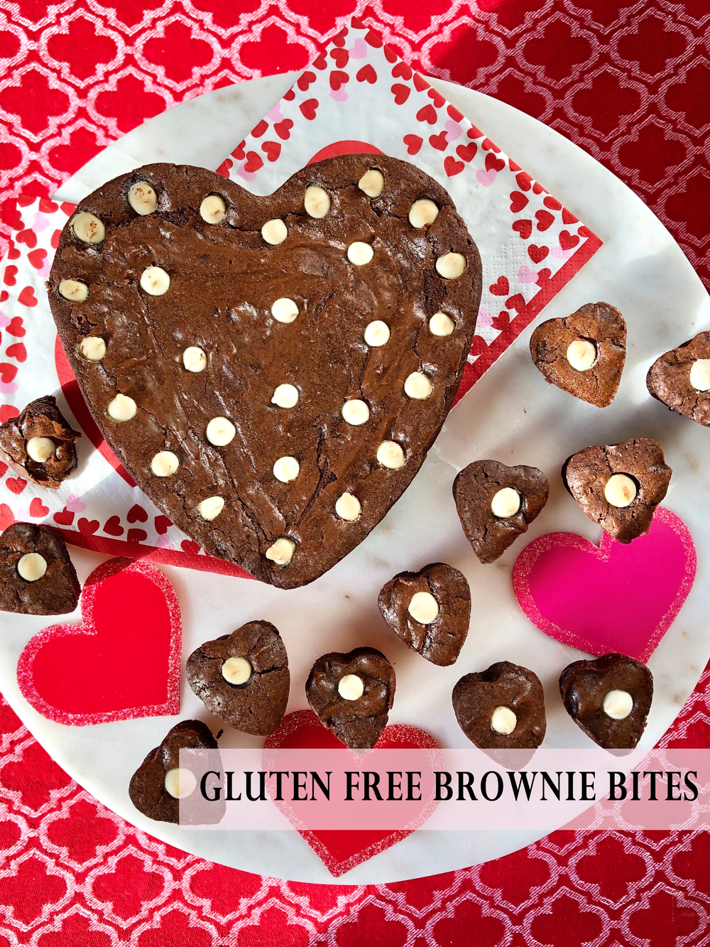 Gluten Free Brownies for Valentines Day