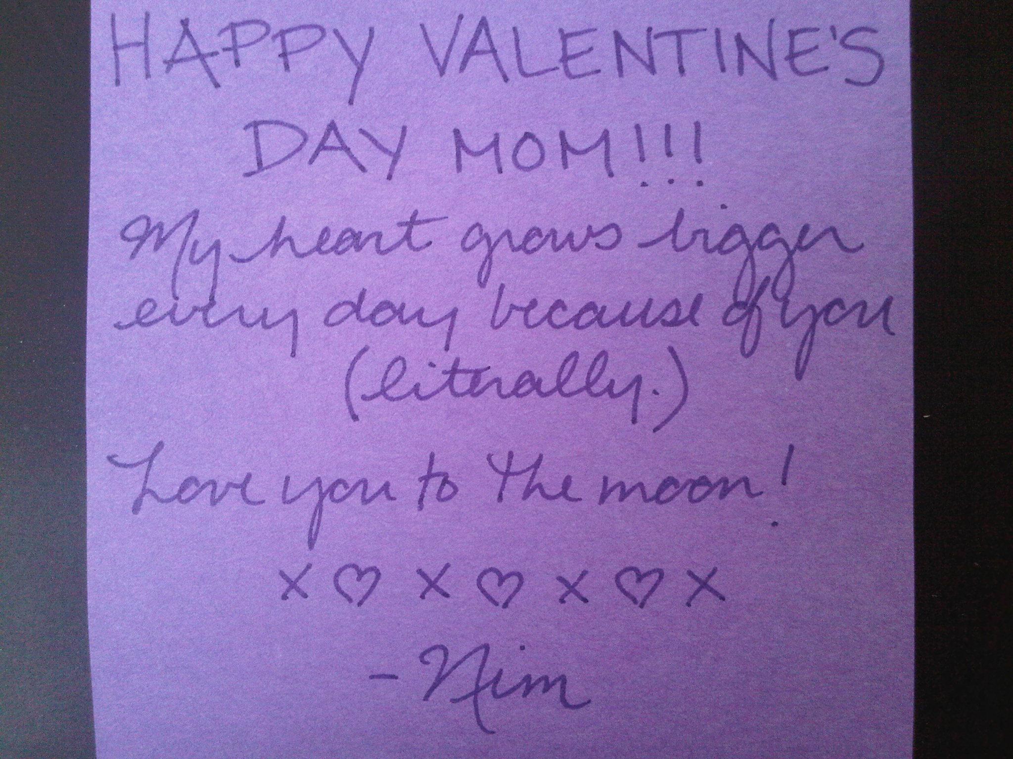 happy valentine s day mom nicki clyne
