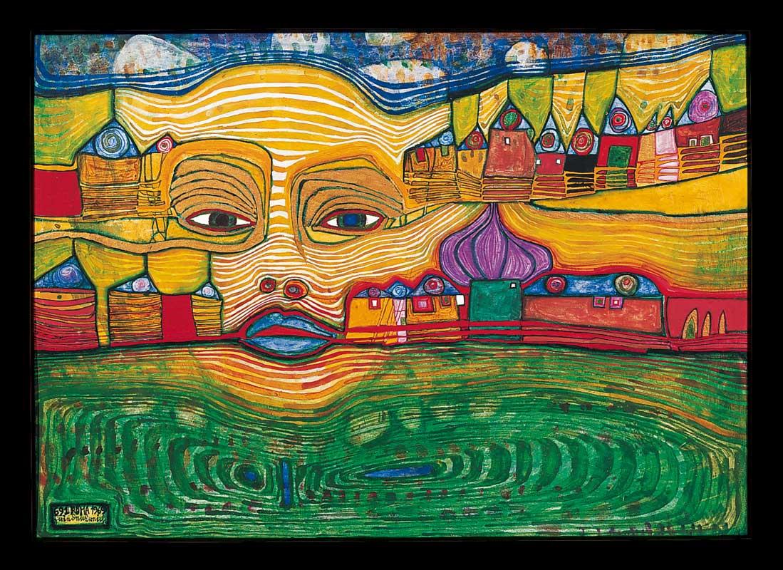Friedensreich Hundertwasser — Two Century Farm