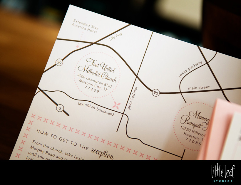 Map & Direction Card