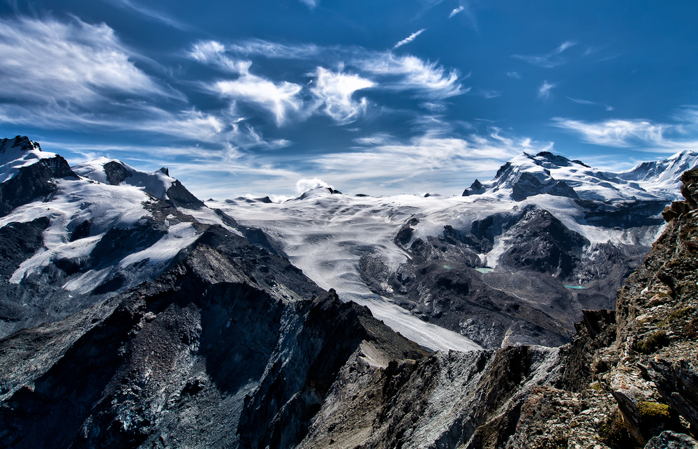 Glacier close to Zermatt