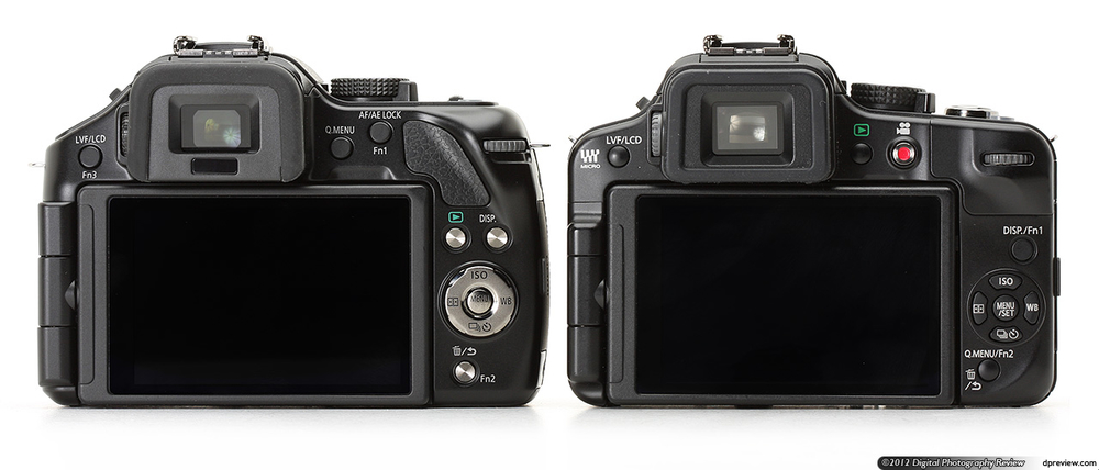 Panasonic G5 compared to G3