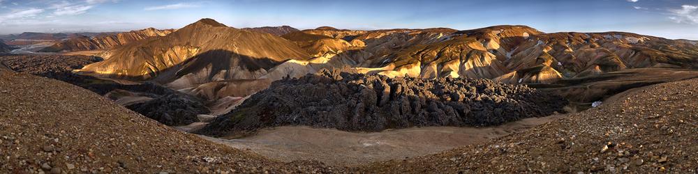 Landmannalaugar Iceland Interior