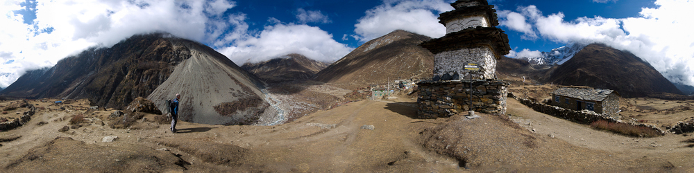 Samdo Nepal, on the Manaslu Circuit