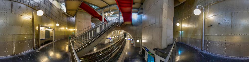 Cite Metro station, Paris