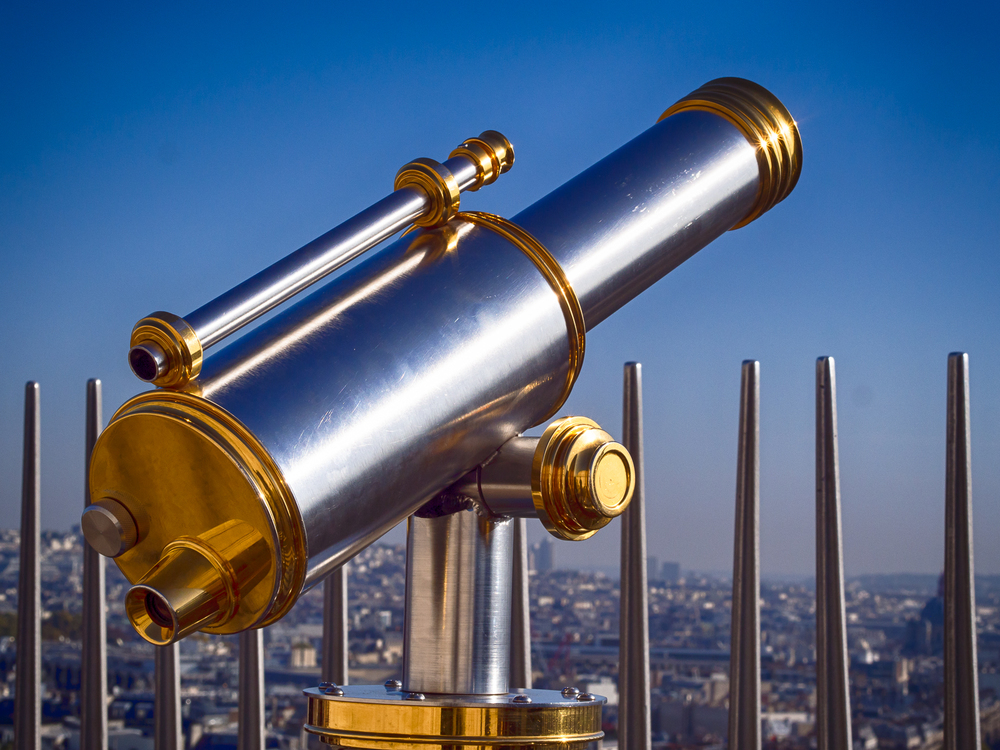 Telescope on the Arc de Triomphe
