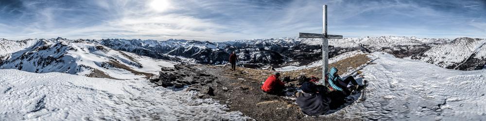 Summit of Guardiole de L'Alp