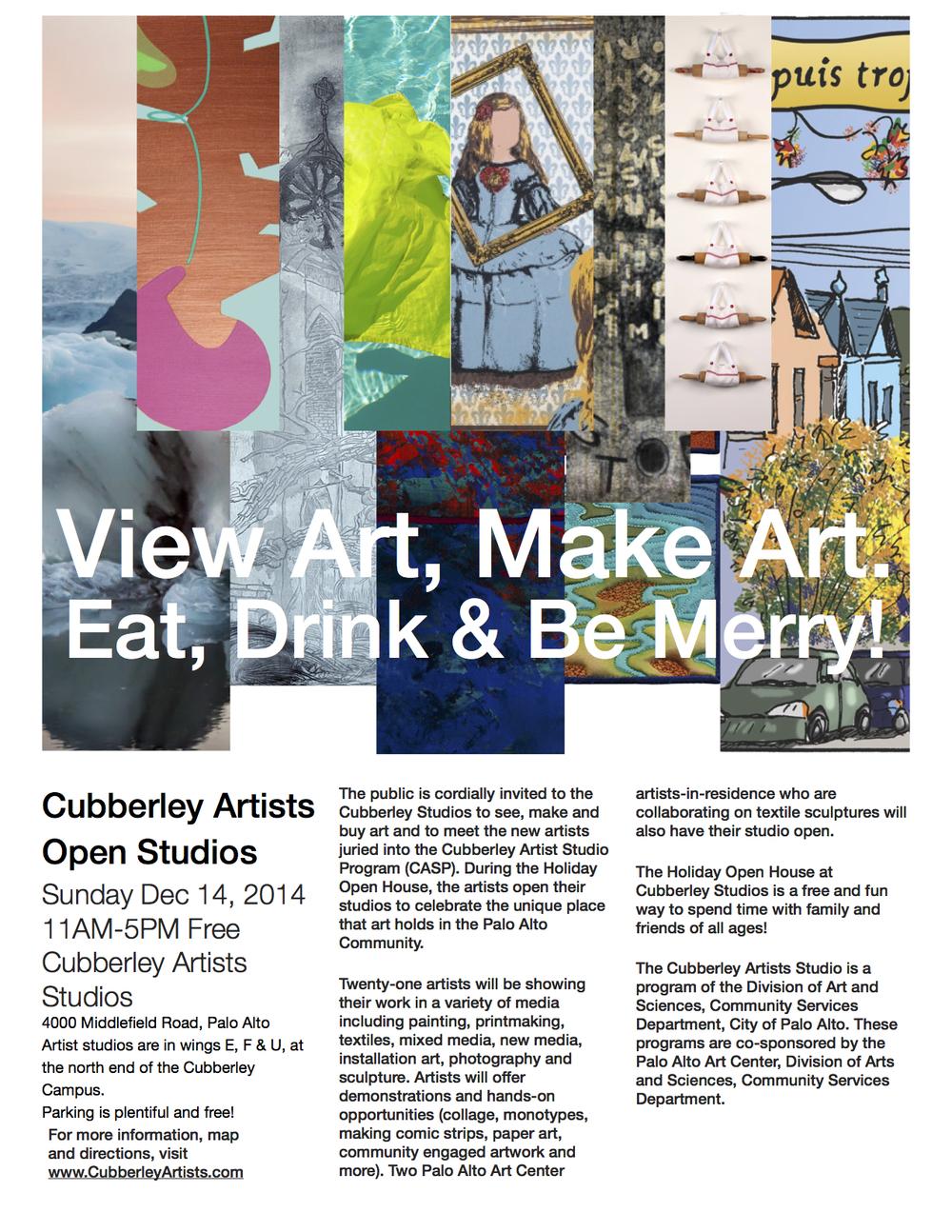cubberley open studios
