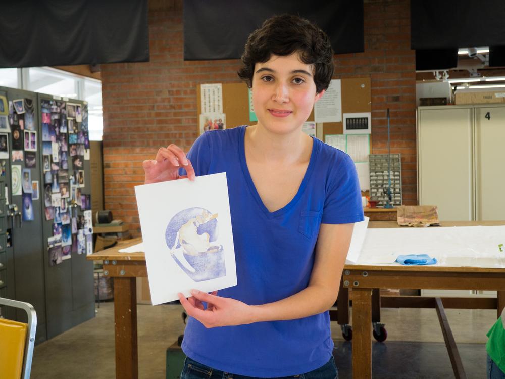Giana's First Print
