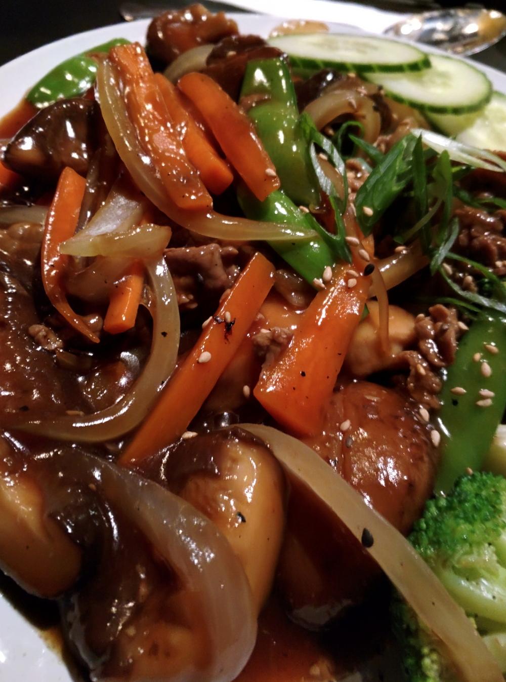 shiitake beef