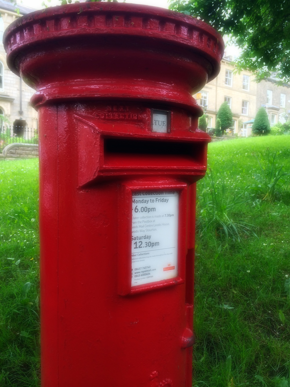 Wells Road pillar box.