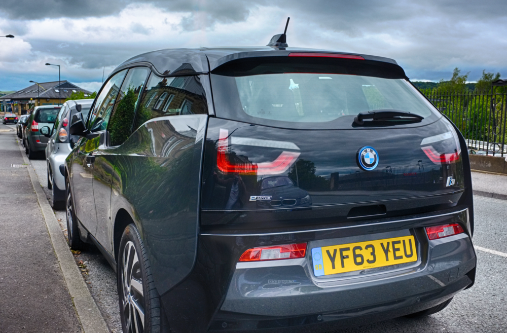 BMW i3 - Rear view