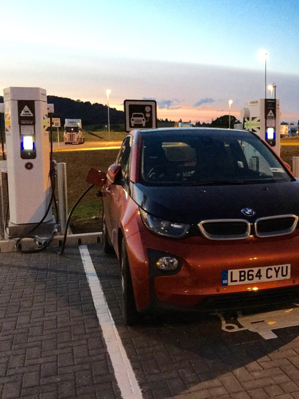 Charging at Gloucester Services